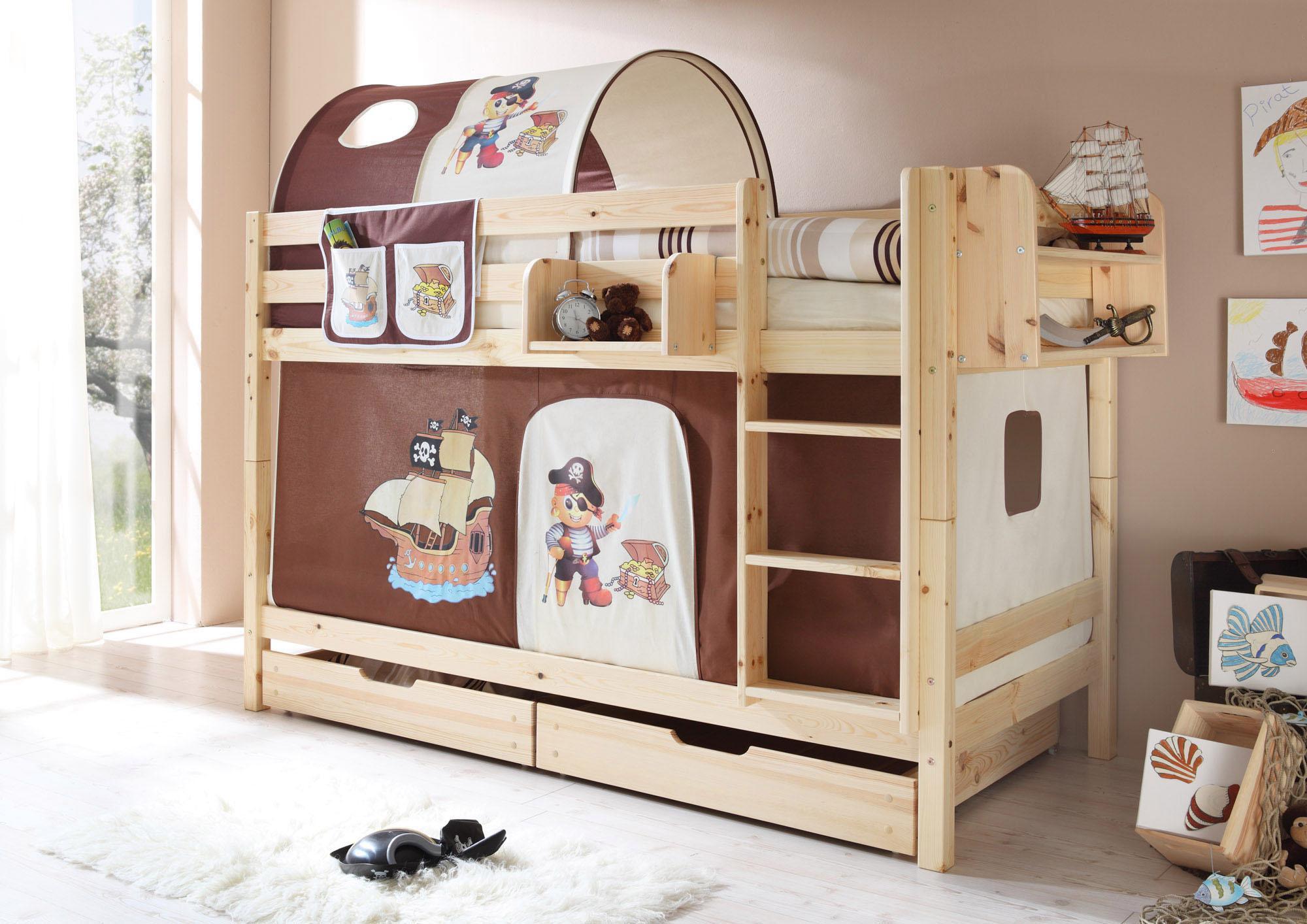 Etagenbett Ticaa Marcel : Natur textil etagenbetten online kaufen möbel suchmaschine