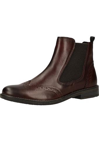 MARCO TOZZI Stiefelette »Leder« kaufen