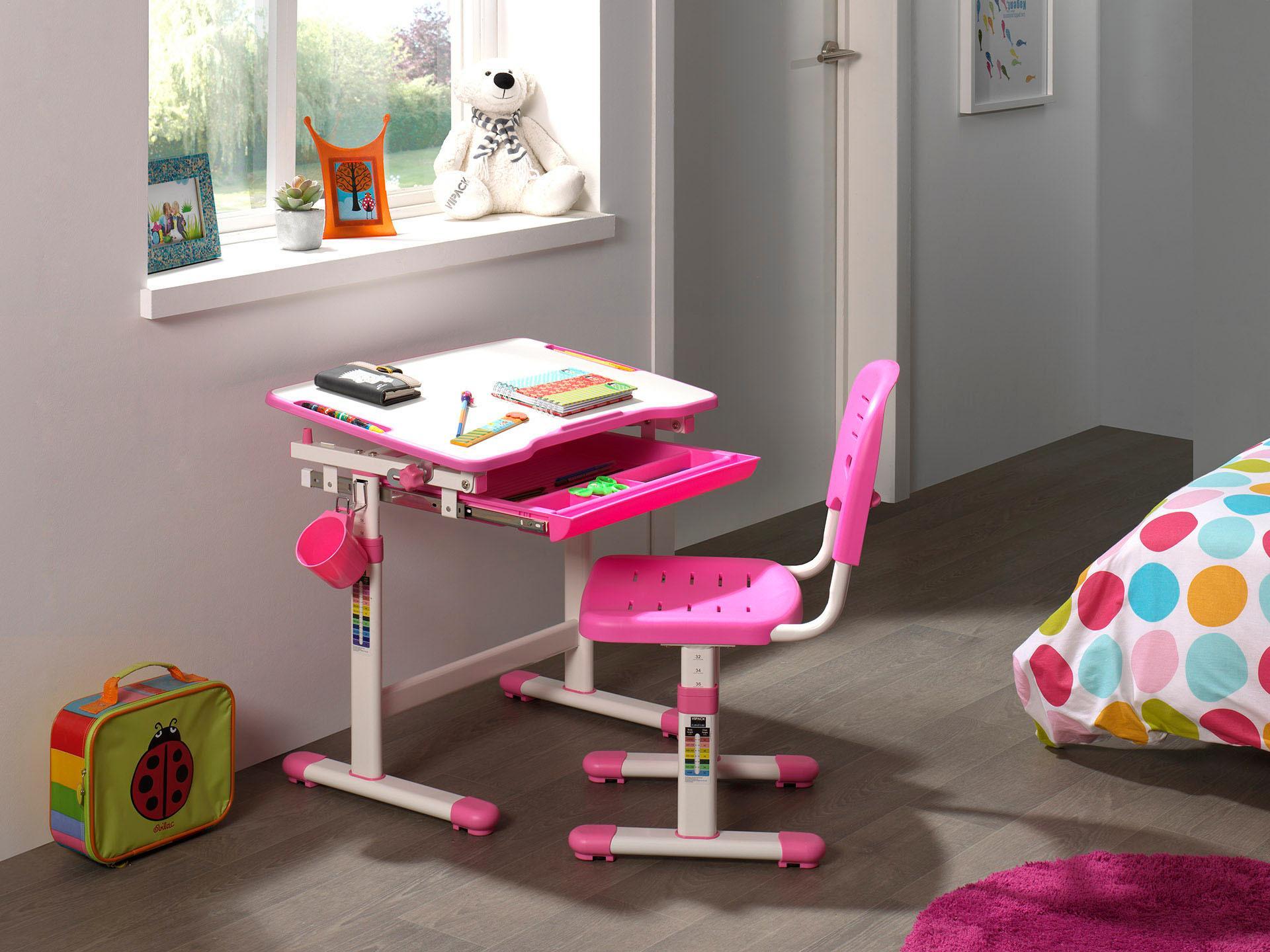 Vipack Kinder Schreibtisch Und Stuhl Fortline