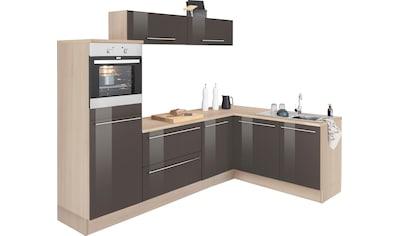 OPTIFIT Winkelküche »Bern«, mit E - Geräten, Stellbreite 265 x 175 cm kaufen