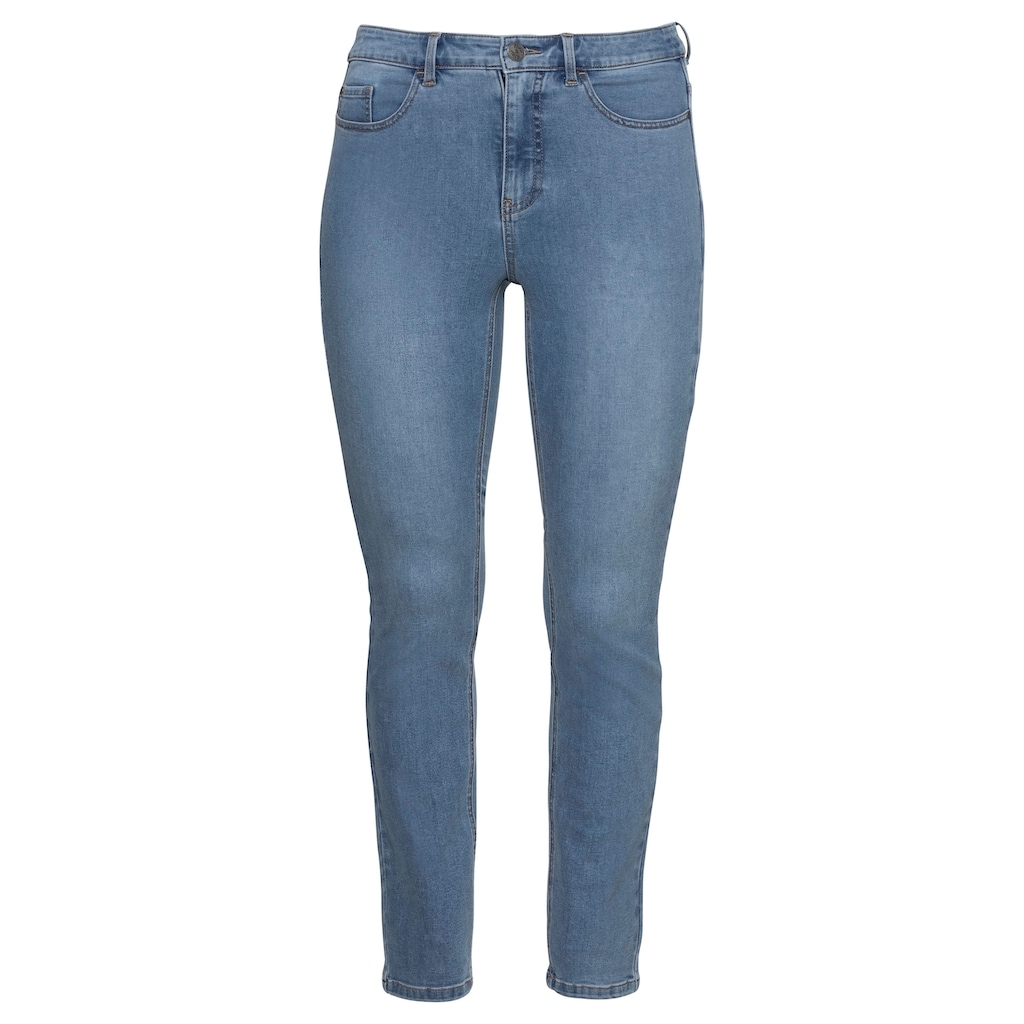 Sheego Stretch-Jeans, Super elastisches Power-Stretch-Material