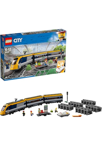 """LEGO® Konstruktionsspielsteine """"Personenzug (60197), LEGO® City"""", Kunststoff, (677 - tlg.) kaufen"""