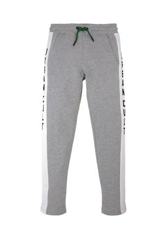 TOM TAILOR Jogginghose »Jogginghose mit Printstreifen« kaufen