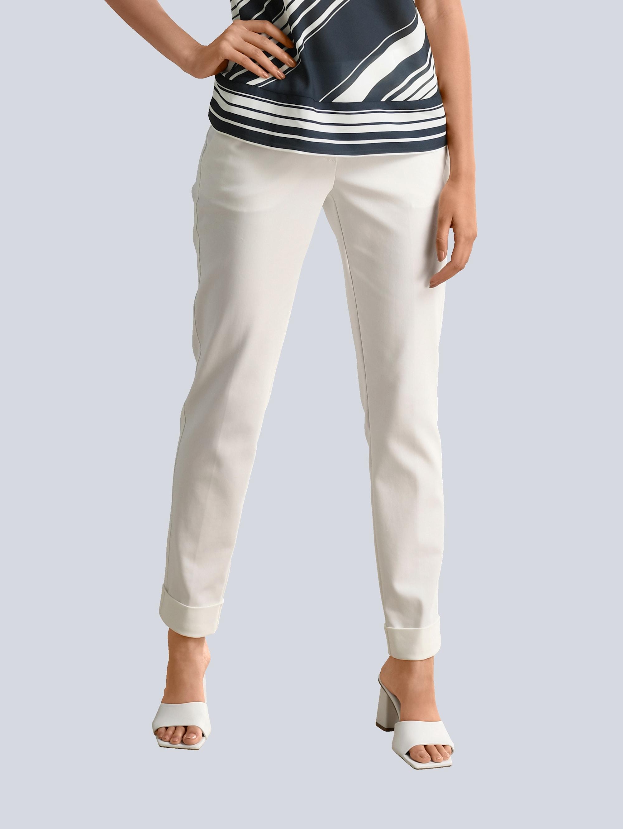 alba moda -  Bundfaltenhose, mit etwas höherem Formbund