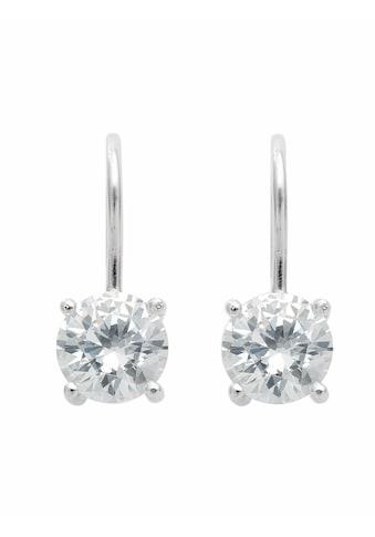 Adelia´s Paar Ohrhänger »925 Silber Ohrringe / Ohrhänger mit Zirkonia Ø 8,5 mm« kaufen