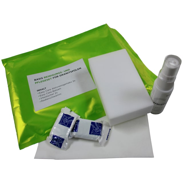 SCHOCK Reinigungs- und Pflegeset »Basis« für SCHOCK Granitspülen