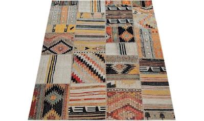 Paco Home Teppich »Artigo 406«, rechteckig, 4 mm Höhe, In- und Outdoor geeignet, Vintage Design, Wohnzimmer kaufen