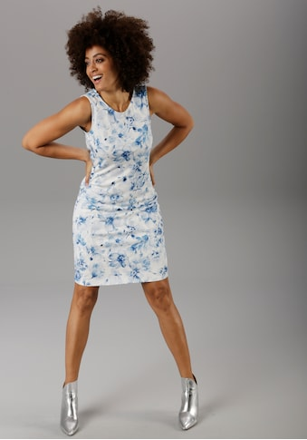 Aniston SELECTED Sommerkleid, im zarten Blumendruck - NEUE KOLLEKTION kaufen