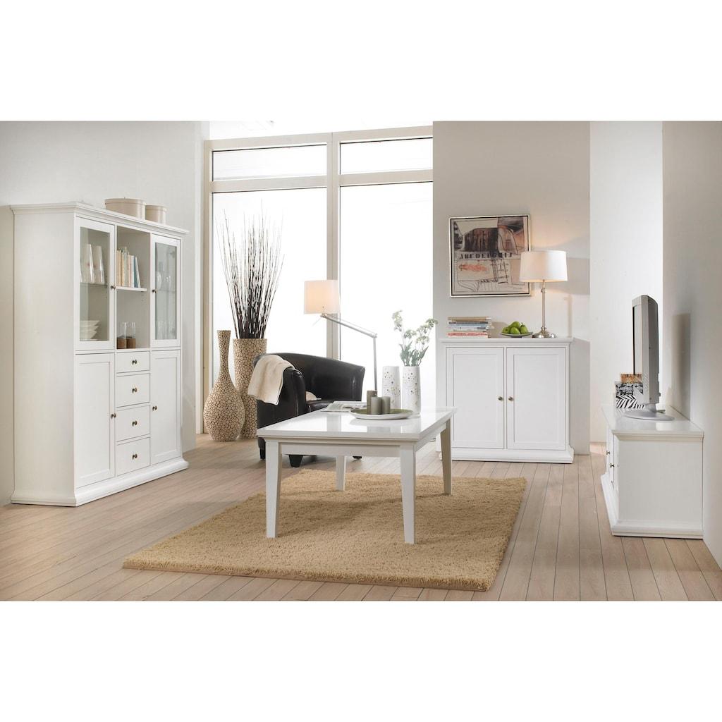 Home affaire Couchtisch »Paris«, erstrahlt in schöner Holzoptik, Breite 75 cm