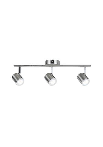 Paulmann LED Deckenleuchte »3er-Spot Nickel Silberfarben Tumbler 3x4,5W«, 1 St., Warmweiß kaufen