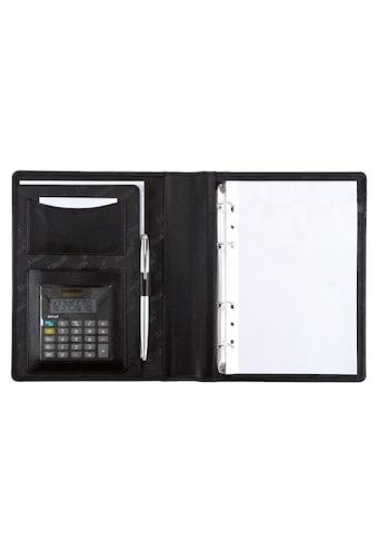 Alassio® Ringbuchmappe »DIN A5, Benaco«, mit Taschenrechner kaufen