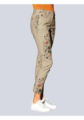 Alba Moda 5-Pocket-Hose, mit modischem Druck kaufen