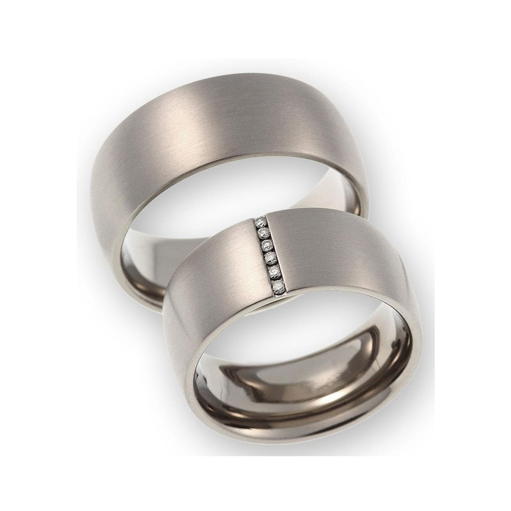 CORE by Schumann Design Trauring »20006156-DR, 20006156-HR, ST042.03«, Made in Germany - wahlweise mit oder ohne Diamanten
