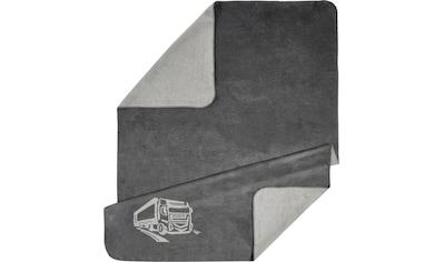 Kneer Wohndecke »Motiv«, wahlweise mit LKW, Gingko oder Hirsch kaufen