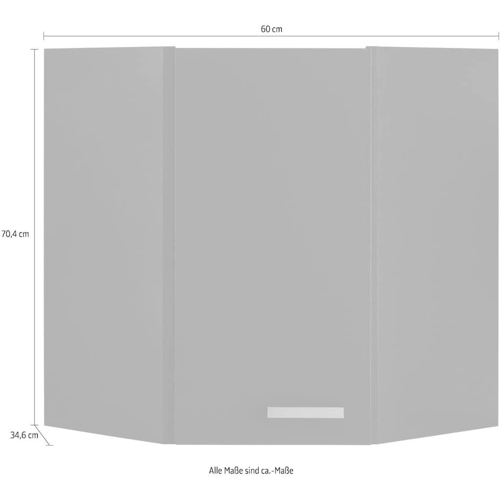 OPTIFIT Eckhängeschrank »Parma«, Breite 60 x 60 cm