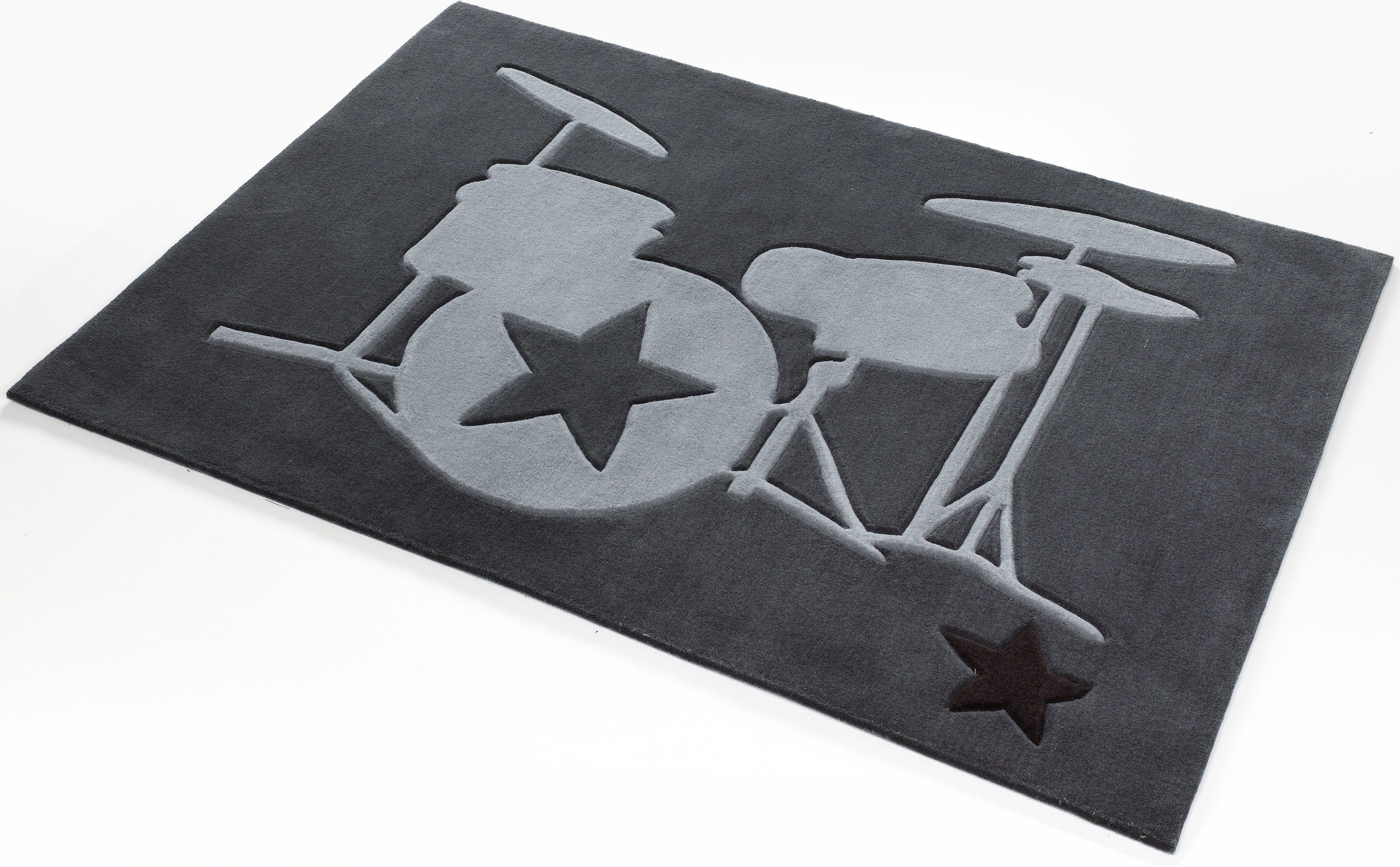 Teppich,  708 , Rock STAR Baby, rechteckig, Höhe 10 mm Preisvergleich