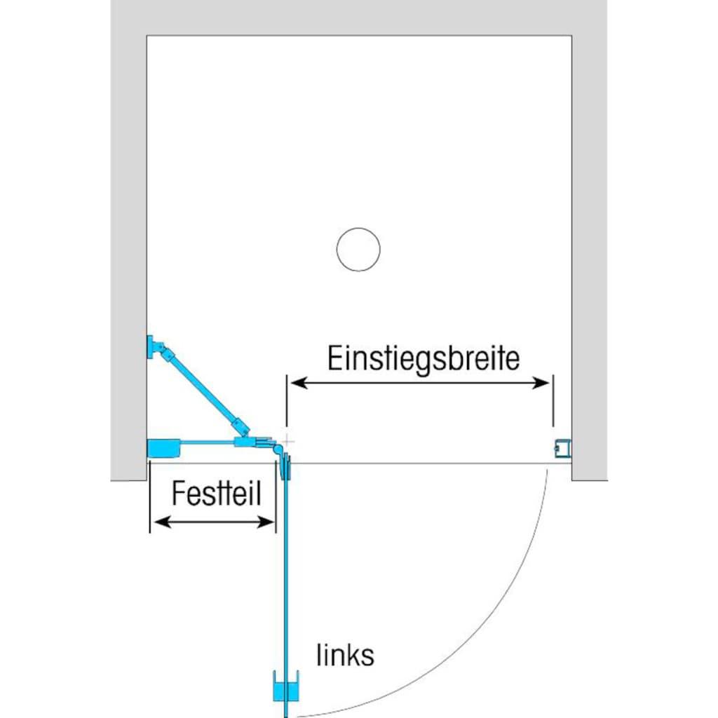 Dusbad Drehtür »Vital 1 für Duschnische«, Anschlag rechts 90 cm
