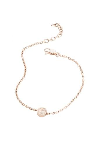CAÏ Armband »925/ -  Sterling Silber rotvergoldet Peace« kaufen