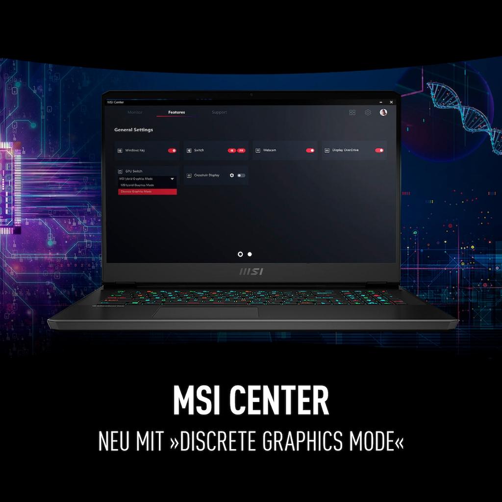 MSI Notebook »GP76 Leopard 11UG-240«, (1000 GB SSD)