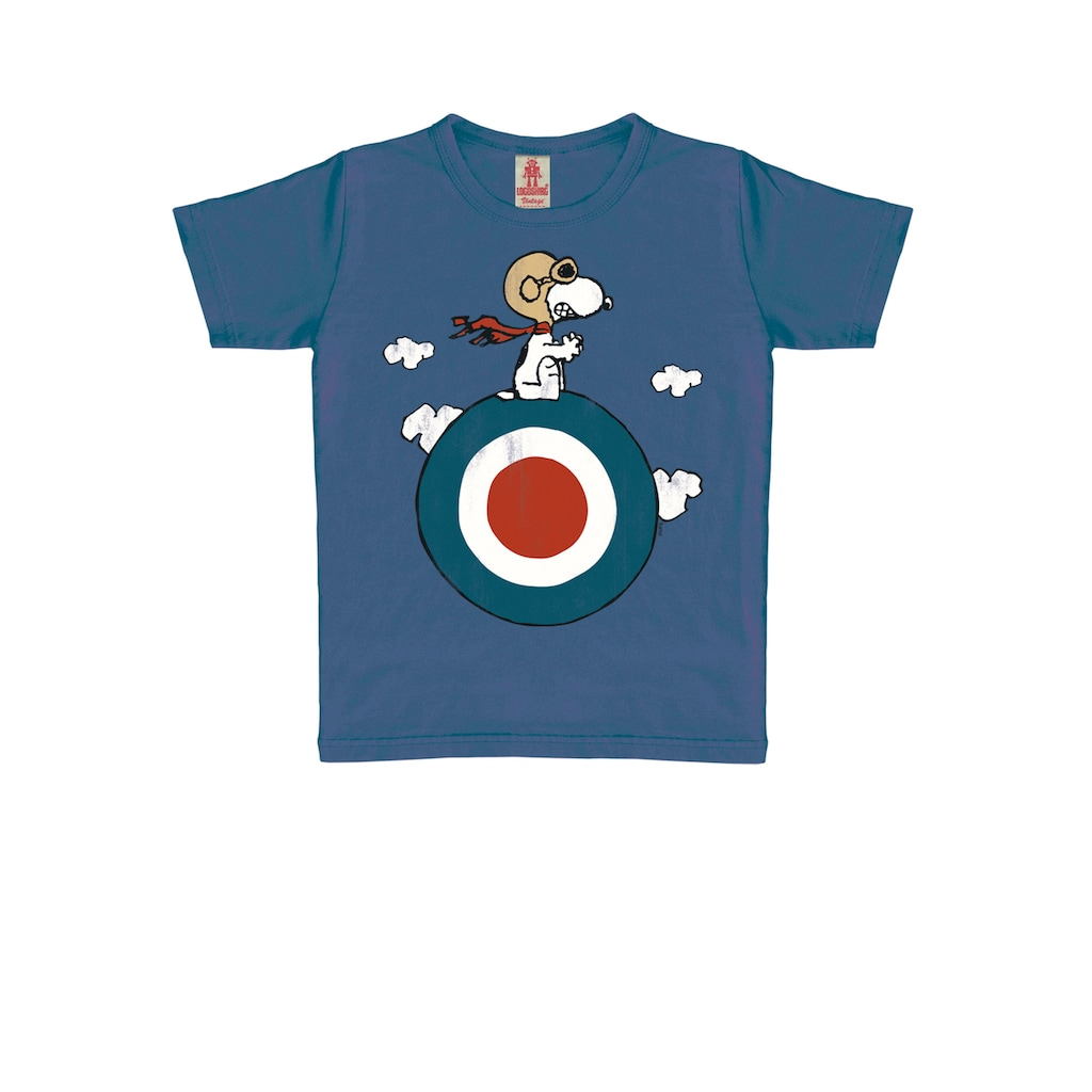 LOGOSHIRT T-Shirt »Peanuts«, mit lizenziertem Originaldesign