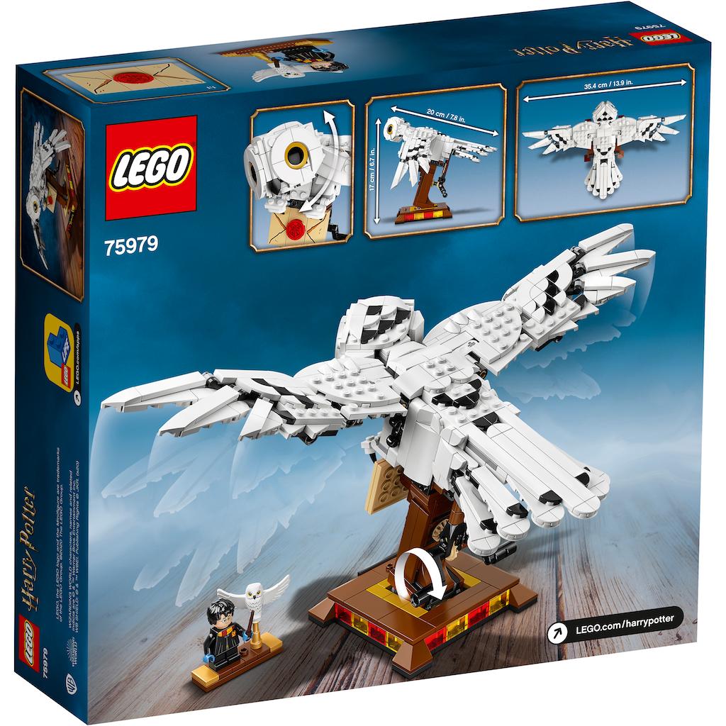 LEGO® Konstruktionsspielsteine »Hedwig™ (75979), LEGO® Harry Potter™«, (630 St.), Made in Europe