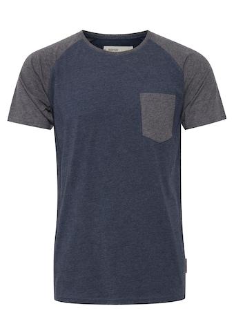 Indicode Rundhalsshirt »Gresham«, Kurzarmshirt im Baseball-Look kaufen