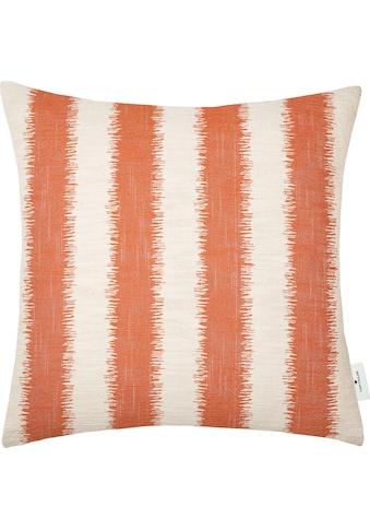 TOM TAILOR Kissenhülle »Fading Stripe«, (1 St.), mit modernem Ethno-Muster kaufen