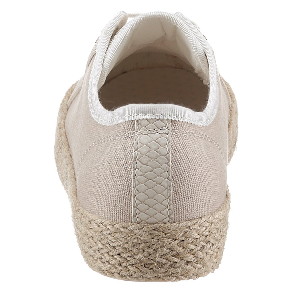 bugatti Sneaker »EVE«, mit Label auf der Zunge