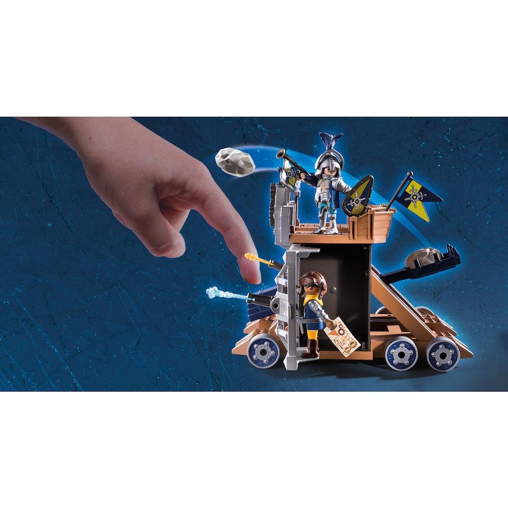 Playmobil® Konstruktions-Spielset »Mobile Katapultfestung (70391), Novelmore«, ; Made in Germany