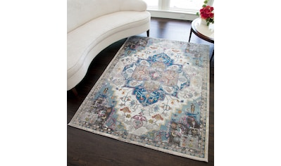 Teppich, »Celine Distressed«, CosmoLiving by Cosmopolitan, rechteckig, Höhe 6 mm, maschinell geknüpft kaufen