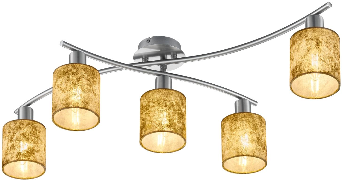 TRIO Leuchten Deckenleuchte Garda, E14, schwenkbar, Leuchtmittel tauschbar