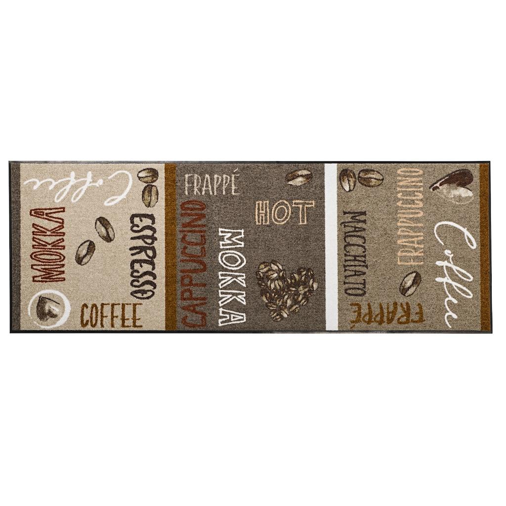 Fußmatte Preisstar coffee st waschbar