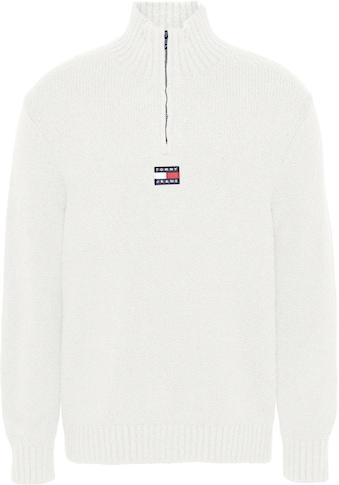 Tommy Jeans Troyer »TJM SOLID BADGE ZIP MOCK NECK« kaufen
