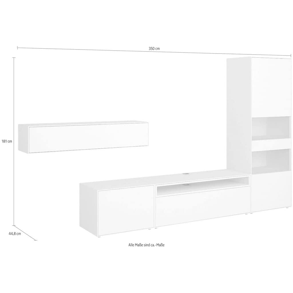 now! by hülsta Wohnzimmer-Set »now! easy«, (Set, 4 St.), in zwei Varianten