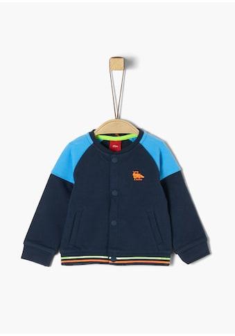 s.Oliver Sweatjacke_für Babys kaufen