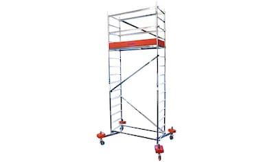 KRAUSE Fahrgerüst »ClimTec«, Max. Arbeitshöhe 5 m, inkl. Fahrrollensatz 150 mm kaufen