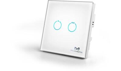 Z - Wave Smart Home Zubehör »Glas - Wandschalter GEN 5 (2 Tasten)  -  Z - Wave« kaufen