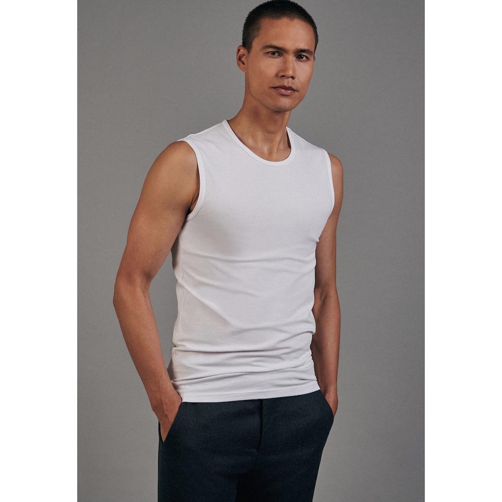 seidensticker T-Shirt »Schwarze Rose«, Ohne Arm Rundhals Uni