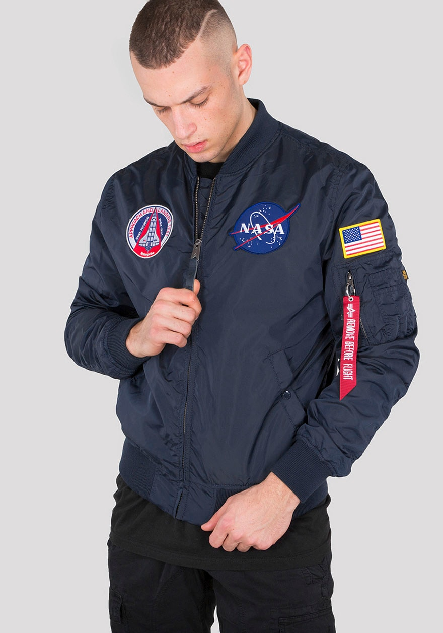 alpha industries -  Bomberjacke MA-1 TT NASA