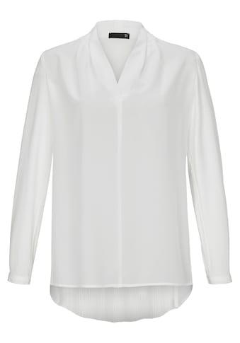 Thomas Rabe Klassische Bluse mit V-Ausschnitt kaufen