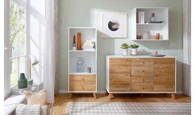 Home affaire Wandregal »Rondo«, aus Massivholz mit einem Einlegeboden, Breite 65 cm kaufen