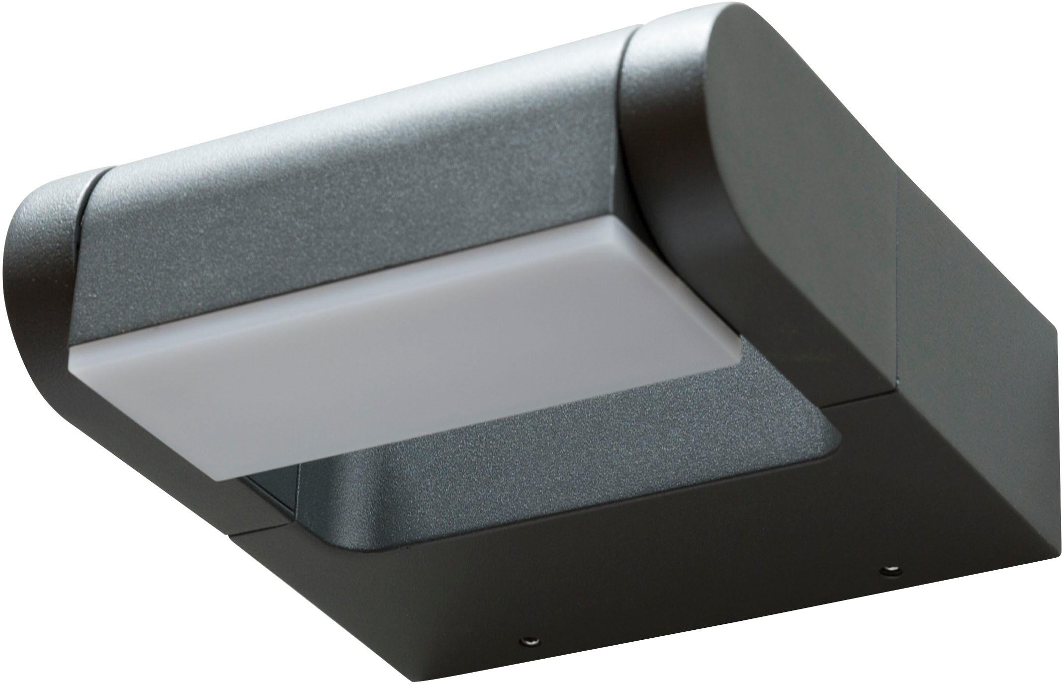 HEITRONIC LED Außen-Wandleuchte Estilo, LED-Board, Warmweiß, 320° schwenkbare Leuchteinheit