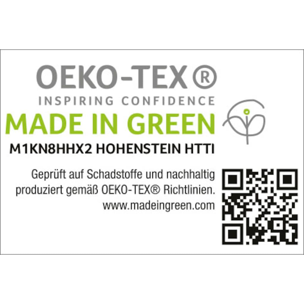 Schlafgut Spannbettlaken »Perkal«, MADE IN GREEN by OEKO-TEX®