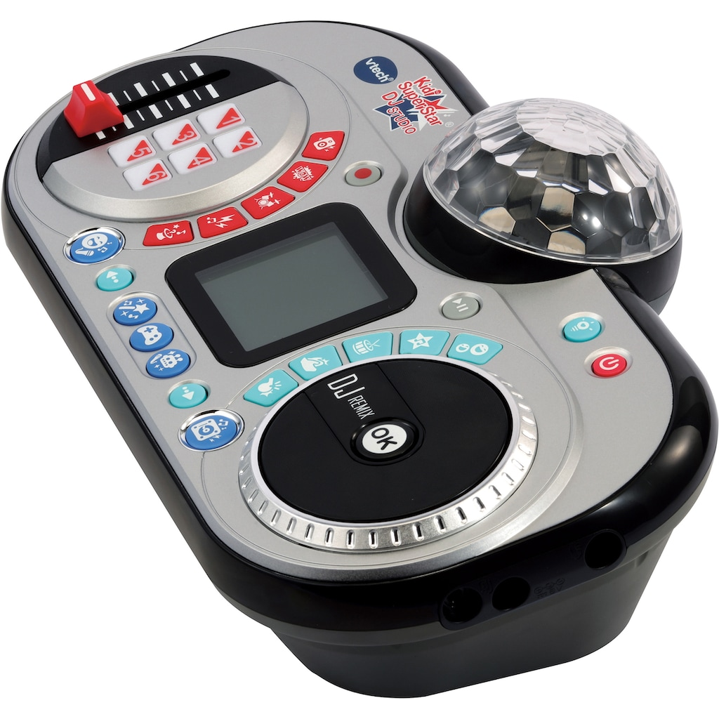 Vtech® Mikrofon »Kidi Super Star DJ Studio, black«