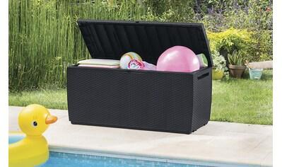ONDIS24 Kissenbox »Capri«, Kissenbox aus Kunststoff, 302 Liter, UV-beständig kaufen