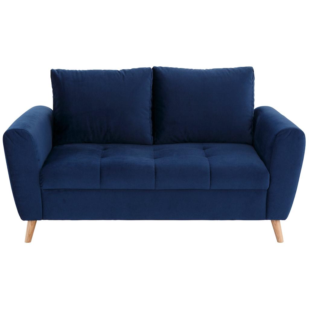 Home affaire 2-Sitzer »Penelope Luxus«, mit besonders hochwertiger Polsterung für bis zu 140 kg pro Sitzfläche