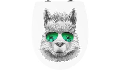 CORNAT WC-Sitz »Lama«, 3D-Dekor kaufen