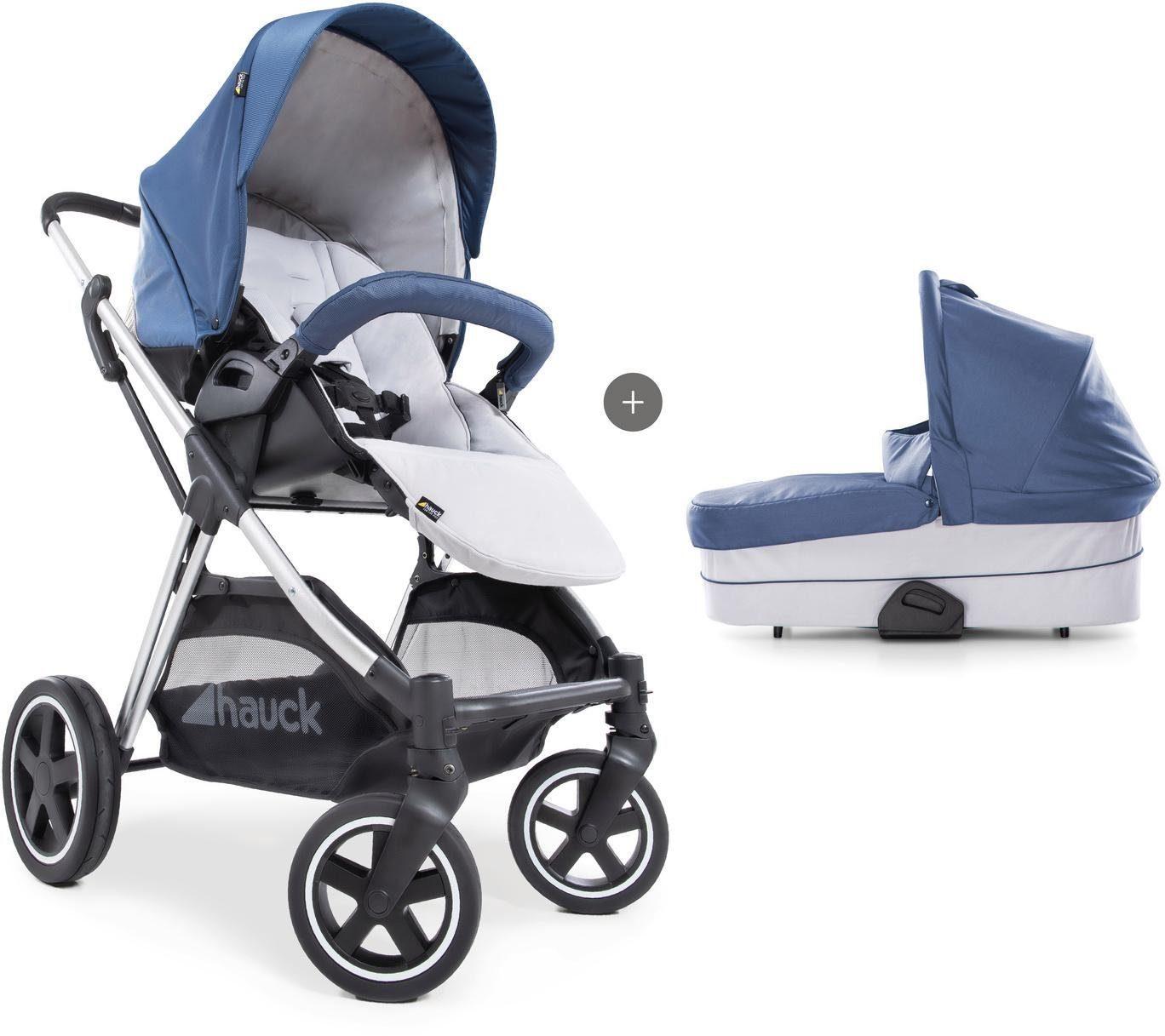 """Hauck Kombi-Kinderwagen """"iPro Mars Duoset denim/silver"""" Kindermode/Ausstattung/Kinderwagen & Buggies/Kinderwagen/Kombikinderwagen"""