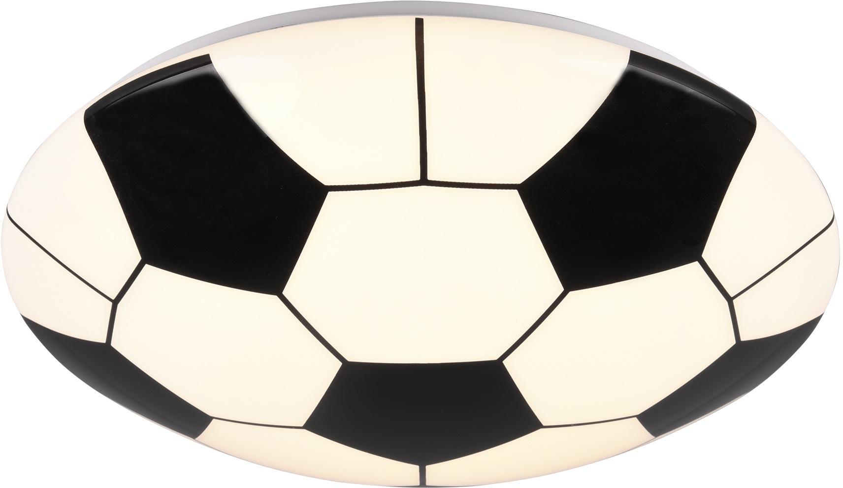 TRIO Leuchten LED Deckenleuchte Kloppi, LED-Modul, Warmweiß