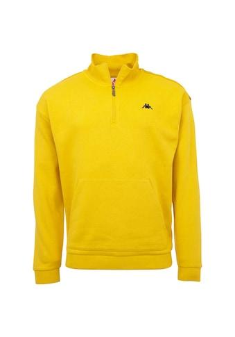 Kappa Sweatshirt »AUTHENTIC GREETER«, in sportlichem Half Zip Design<br /> kaufen